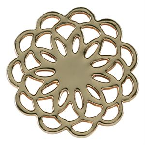 Picture of Medium Gold Flower Screen