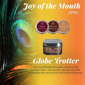 Picture of Globetrotter - Joy of Month selection for April
